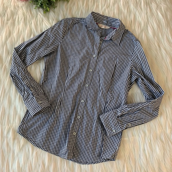 Brooks Brothers Tops - Brooks Brothers Women's Checkered Button Down